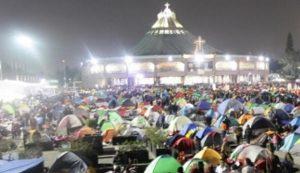 Más de 10 millones arribaron a la Basílica de Guadalupe esta madrugada