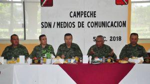 Calles de Campeche no sean militarizadas: SEDENA