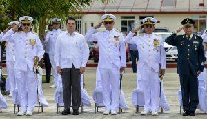 Carlos Ortega, nuevo Comandante de la Tercera Región Naval en Campeche
