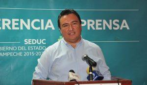 Sera bienvenido todo lo que enriquezca la educación en Campeche: Ricardo Medina