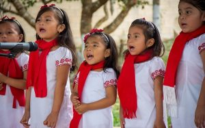 Se preserva la lengua maya con cantos navideños en Yucatán