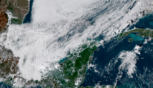Frente Frío 16 descenso en las temperaturas, sur de Yucatán