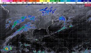 Lluvias intensas se prevén en zonas de Veracruz, Tabasco y Oaxaca, durante las siguientes horas