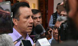 Yunes Linares y Fiscal de Veracruz planearon liberación de duartistas para acusarlo: Cuitláhuac García