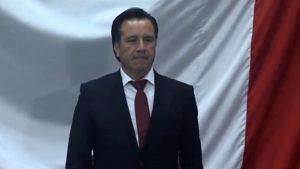 Toma protesta Cuitláhuac García Jiménez como gobernador Constitucional de Veracruz