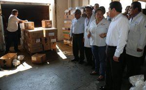 Dotan de medicamentos e insumos a hospitales, la secretaria de Salud en Tabasco