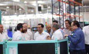 Empresas confían en Yucatán para seguir invirtiendo
