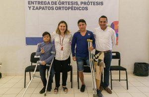 Otorga DIF Yucatán órtesis y prótesis a más beneficiarios