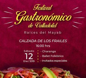 Valladolid celebrará su galardón «Mejor destino de América del Norte 2019» con un Festival Gastronómico