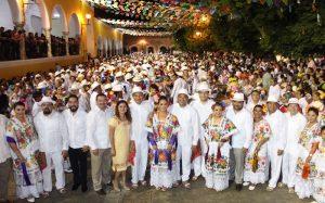 Magna Vaquería de Izamal reúne a jaraneros de Yucatán y Campeche