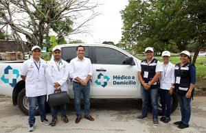 En Yucatán, «Médico a domicilio» supera la meta de familias atendidas en su primera etapa