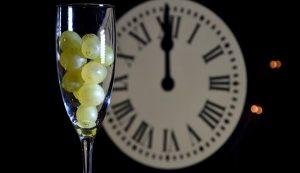 Uvas, copas y lentejas para iniciar el año 2019
