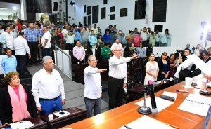 Toman protesta Enrique Priego y Gregorio Romero como Magistrados del Tribunal Superior de Justicia