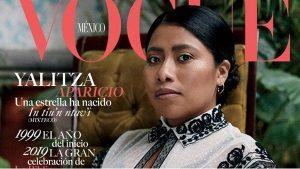 Yalitza Aparicio en la portada de Vogue México