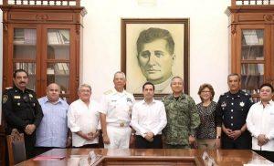Yucatán se suma al nuevo Plan de Seguridad Nacional
