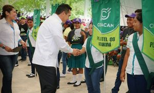 Invierte gobierno de Campeche más de 100 MDP en mejoramiento del COBACAM