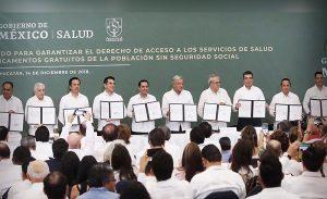 Campeche firma acuerdo para fortalecer sistema de Salud