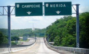 Mínimo el trabajo de reparación en carreteras federales Campeche-Mérida