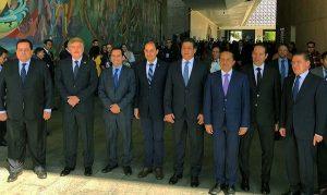 Asiste Gobernador Mauricio Vila Dosal a toma de protesta de AMLO como presidente de México