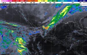 El Frente Frío 30 ocasionará vientos fuertes y descenso de temperatura en el noroeste y el norte de México