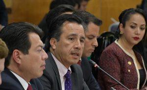 Apoyamos la creación de la Guardia Nacional, queremos resolver la inseguridad: Cuitláhuac García