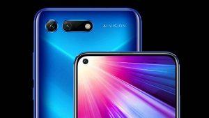 Lanza Huawei móvil con cámara de 48 mega pixeles y agujero en la pantalla