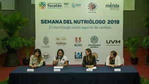 Se recalcará el papel del nutriólogo como agente de cambio social en Yucatán