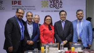 Rescataremos al Instituto de Pensiones de Veracruz: Cuitláhuac García