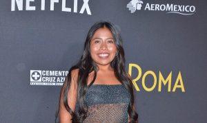 Celebra Yalitza Aparicio el triunfo de «Roma» en los Globos de Oro