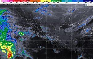 Se pronostican tormentas puntuales fuertes en Quintana Roo y Chiapas