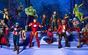 Batalla épica de Superhéroes en Palacio de los Deportes