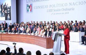Aprueba Consejo Político elección abierta y directa de la próxima dirigencia del CEN del PRI