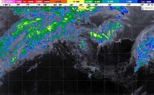 Se prevén lluvias muy fuertes y densos bancos de niebla en regiones de Tabasco, Oaxaca y Chiapas