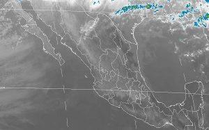 Se prevé tiempo estable y seco con ambiente de cálido a caluroso en la mayor parte de México