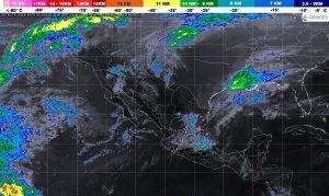 Se prevén tormentas de muy fuertes a intensas en Veracruz, Tabasco, Oaxaca y Chiapas