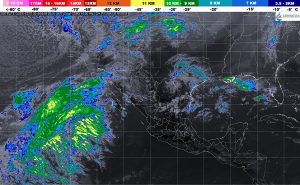 El Frente Frío Número 34 ocasionará lluvias con intervalos de chubascos en Sonora