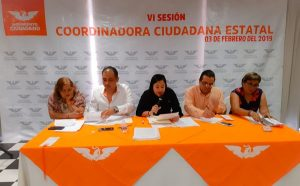 Coordinadora Operativa de Movimiento Ciudadano en Tabasco cae en la ilegalidad su convocatoria