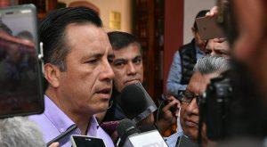 Vamos a reforzar la seguridad en todo Veracruz, eso ténganlo seguro: Cuitláhuac García