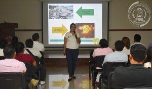 Coadyuva FGE en la promoción de acciones de protección civil