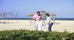 Con playas limpias en Yucatán, se incentiva el turismo y se reactiva la economía costera