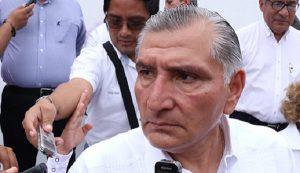 Estrategias y coordinación con fuerzas federales garantizan la seguridad pública en Tabasco: Adán Augusto