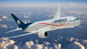 Aeromexico ya permite enviar mensajes gratis de WhatsApp en sus vuelos