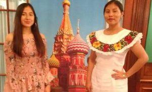 Alumnas de la UJAT obtienen primero y segundo lugar en concurso de Jóvenes Lectores en idioma ruso