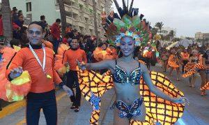 Exitoso último desfile del Carnaval de Veracruz 2019