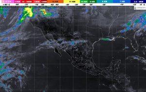Se prevén chubascos y vientos fuertes con posibles tolvaneras en el noreste de México