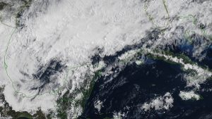 Se pronostican lluvias para este martes y miércoles por Frente Frío 44 en la península de Yucatán