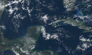 Condiciones muy calurosas en la mayor parte de la Península de Yucatán