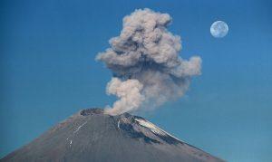 Emiten alerta por volcán Popocatépetl