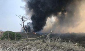 Circule con precaución, reducción de visibilidad en tramo carretero Cardel a Veracruz, reportan bomberos