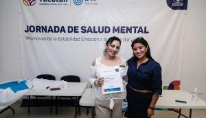 Jornadas de Salud Mental en Yucatán, espacios para la promoción del desarrollo emocional